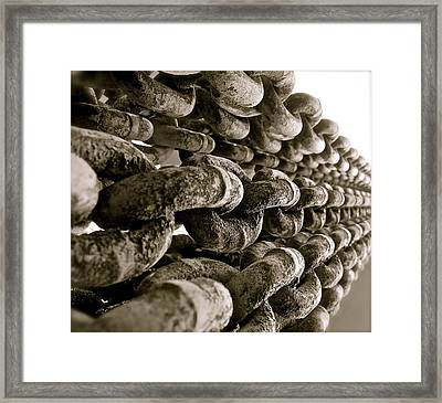 Yank My Chain Framed Print
