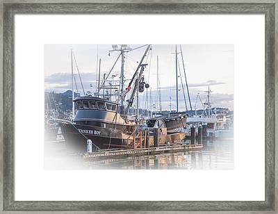 Yankee Boy Framed Print