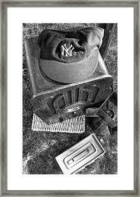Yankee Cap Framed Print by Ron Regalado