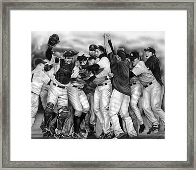 Yankee Celebration Framed Print by Jerry Winick