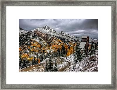 Yankee Girl Mine Framed Print