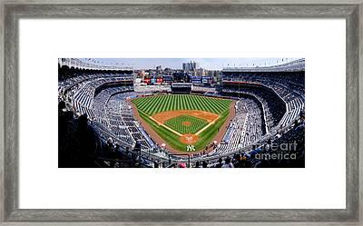 New York Stadium 1 Framed Print by Bob Stone