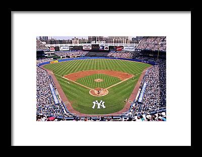 Yankee Stadium Framed Prints