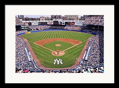 Yankee Stadium Bleachers Framed Prints