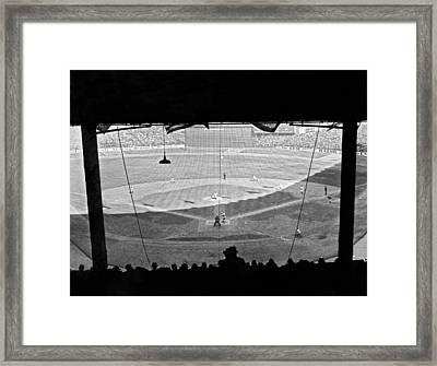 Yankee Stadium Grandstand View Framed Print