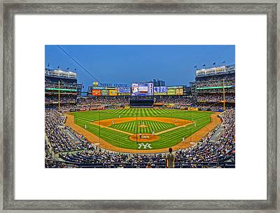 Yankee Stadium Framed Print by Jeffrey Friedkin
