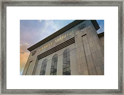 Yankee Stadium Framed Print by Stephen Stookey