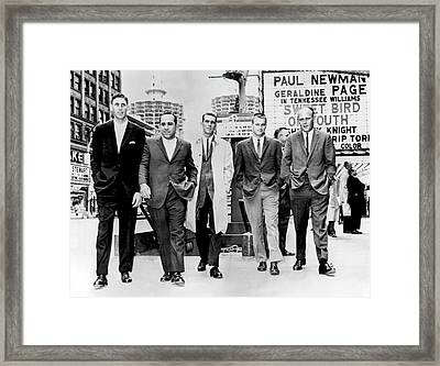 Yankees In Chicago Framed Print
