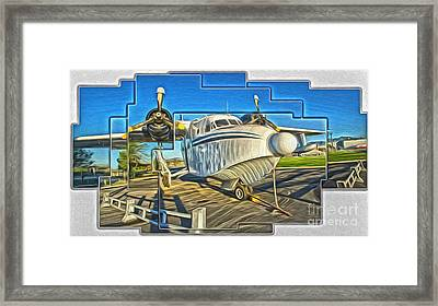Yanks Air Museum Framed Print by Gregory Dyer