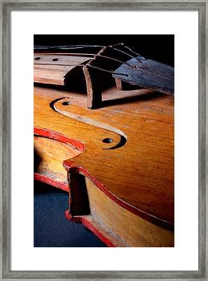 Yaqui Fiddle Framed Print