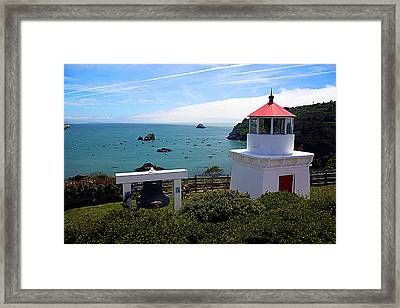 Yaquina Bay Lighthouse Framed Print