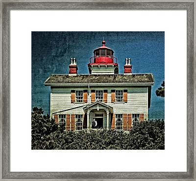 Yaquina Bay Lighthouse Framed Print