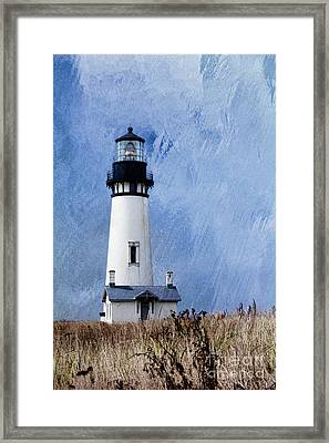 Yaquina Lighthouse Framed Print