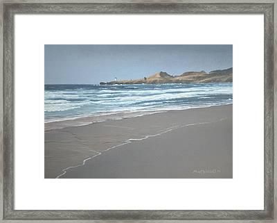 Yaquina Lighthouse Framed Print