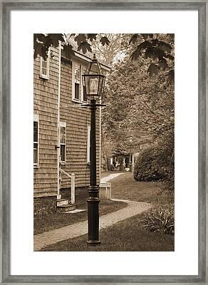 Yard Lamp Framed Print