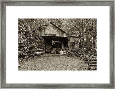 Yard Tour Framed Print