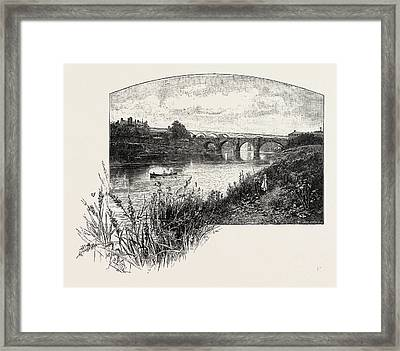 Yarm Is A Small Town And Civil Parish In The Unitary Framed Print by English School