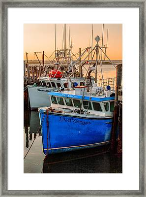 Yarmouth Harbour Framed Print