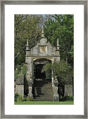 Yarnton Sundial Framed Print by Joseph Yarbrough