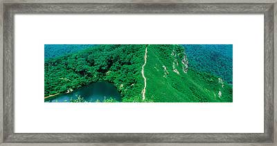 Yashga-ike Nagano Japan Framed Print by Panoramic Images