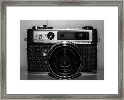 Yashica 1c Framed Print by Steven  Taylor
