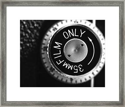 Yashica 635 - 35mm Only Framed Print