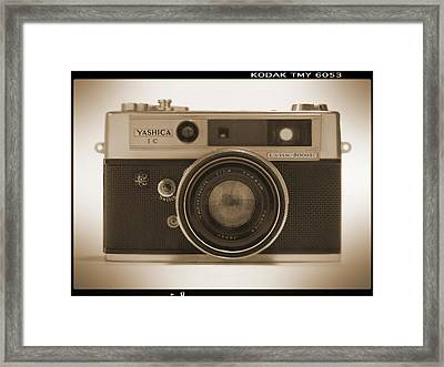 Yashica Lynx 5000e 35mm Camera Framed Print