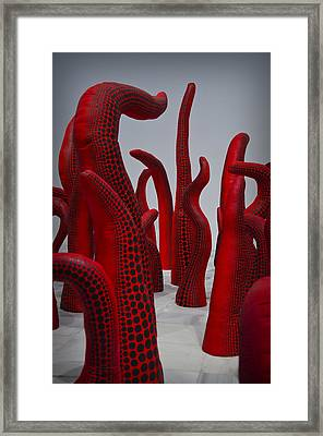 Yayoi Kusama Framed Print