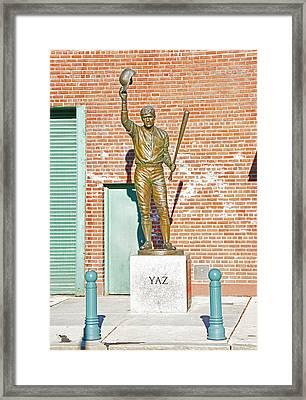 Yaz Framed Print by Mike Martin