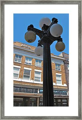 Ybor City 2010 5 Framed Print