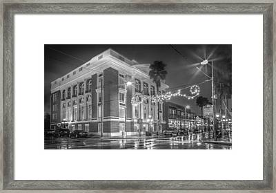 Ybor City Italian Club Framed Print by Ybor Photography