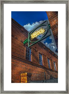 Ybor Square Framed Print by Marvin Spates