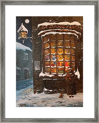 Ye Old Toy Shoppe Framed Print
