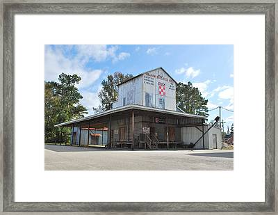 Ye Olde Feed Mill Framed Print by Bob Sample