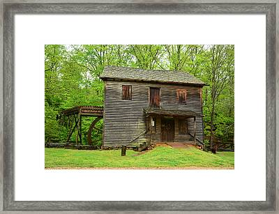 Framed Print featuring the photograph Ye Olde Grist Mill by Bob Sample