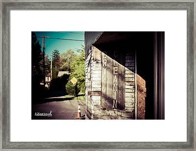Ye Olde Laundry House Framed Print