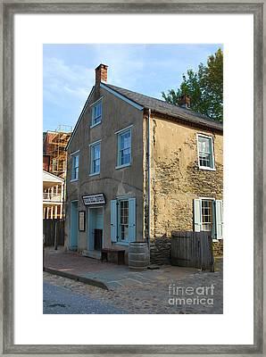 Ye Olde White Hall Tavern Framed Print