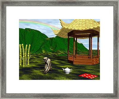 Year Of The Monkey Framed Print