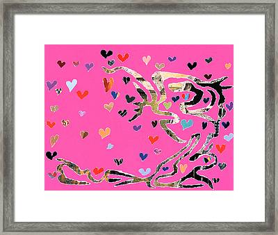 Year Of The Snake V1 Framed Print by Kenneth James