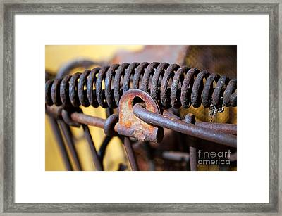 Years Of Holding Framed Print