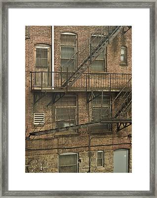 Years Of Iron Framed Print