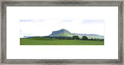 Yeats Country - Under Ben Bulben Framed Print by Charlie Brock