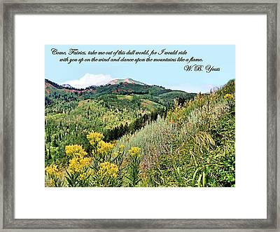 Yeats Framed Print