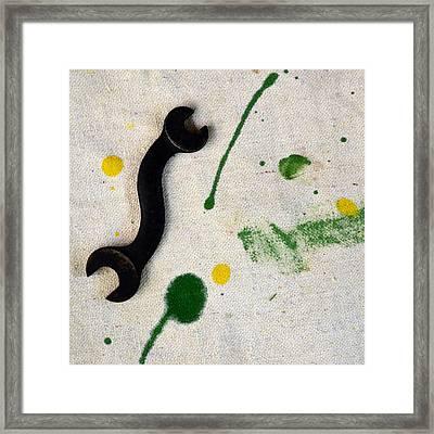 Yellow # 5 Framed Print by Tom Druin