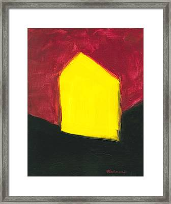 Yellow Arthouse Framed Print