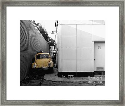 Yellow Bug Framed Print by   Joe Beasley