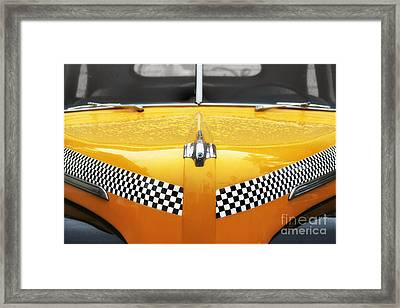 Yellow Cab #2 Framed Print by Nikolyn McDonald
