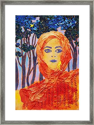 Yellow Canary Framed Print