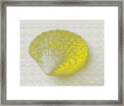 Yellow Framed Print by Carol Lynch