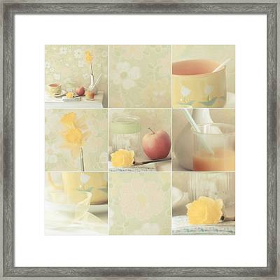 Yellow Collection Framed Print